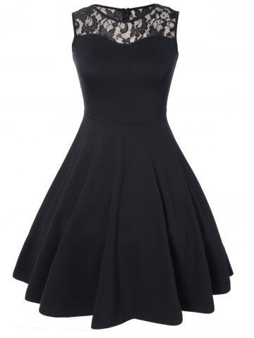 GET $50 NOW | Join RoseGal: Get YOUR $50 NOW!http://m.rosegal.com/casual-dresses/sleeveless-lace-a-line-dress-815174.html?seid=963503rg815174