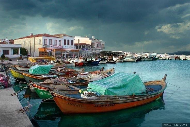 Boats at Izmir Urla, Turkey