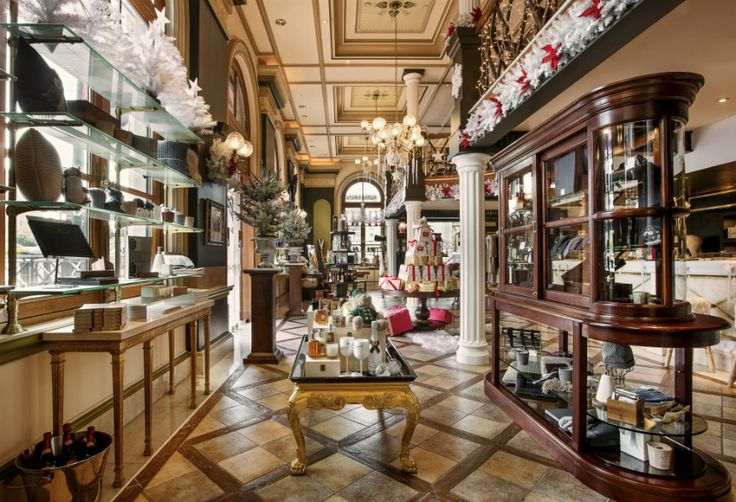 Find amazing festive gift ideas and unique products at the GB Corner Gifts & Flavors Shop of the Hotel Grande Bretagne in Athens.
