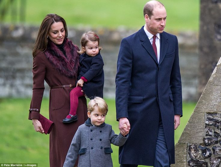 In another unusual move for the family, Kate and William chose to take their children alon...