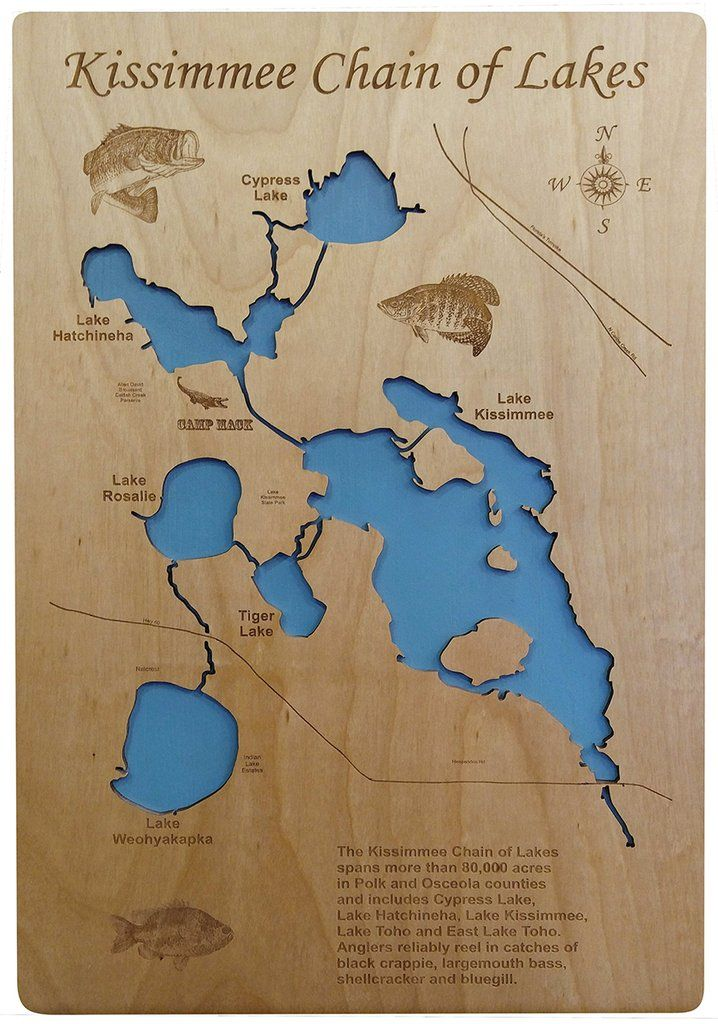 map of lake kissimmee Pin On Kissimmee Chain Of Lakes Florida map of lake kissimmee