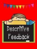 Throwaway Phrases vs. descriptive feedback