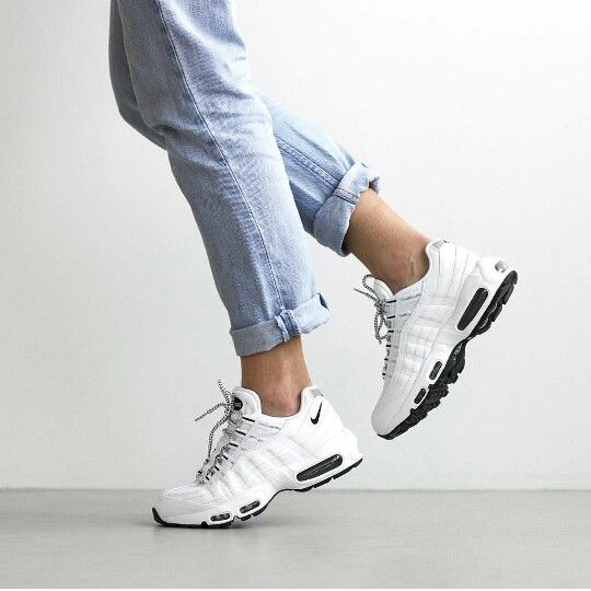 Adidas Women Shoes - Sneakers femme - Full White Nike Air Max 95 - We  reveal the news in sneakers for spring summer 2017