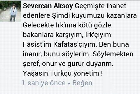Ya Türkçü iktidar,  Ya kanlı İHTİLAL !