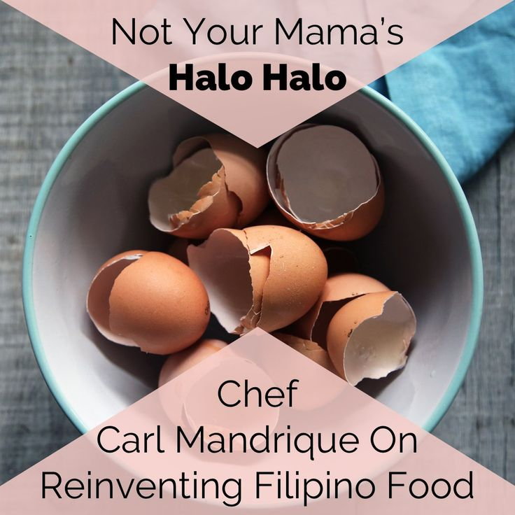 We speak with Chef Carl Mandrique, chef and owner of Merienda Toronto, on his new twist on the classic Filipino halo halo dish. He also shares more about his food philosophy on reinventing traditional Filipino dishes. Read why we partnered with him to host our successful Halo Halo Holiday Pop-Up Shop!
