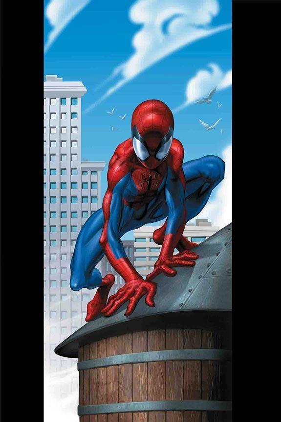 #Ultimate #Spiderman #Fan #Art. (Ultimate Spiderman #30 cover) By: Mark Bagley. (THE * 5 * STÅR * ÅWARD * OF: * AW YEAH, IT'S MAJOR ÅWESOMENESS!!!™)[THANK Ü 4 PINNING!!!<·><]<©>ÅÅÅ+(OB4E)