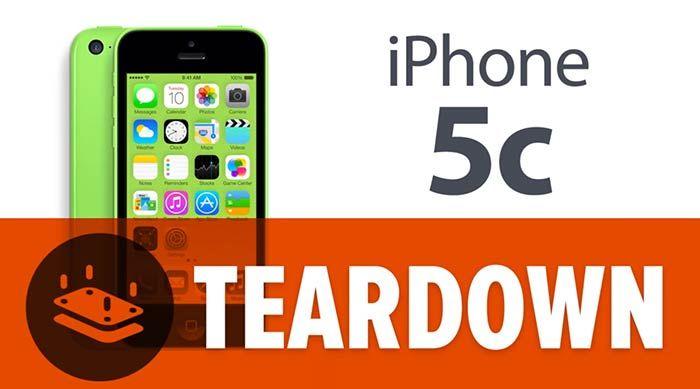 iPhone 5C Teardown [video]