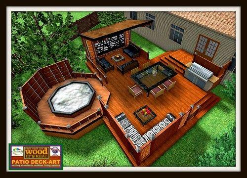 patio piscine hors terre recherche google amenagement exterieur pinterest patios. Black Bedroom Furniture Sets. Home Design Ideas