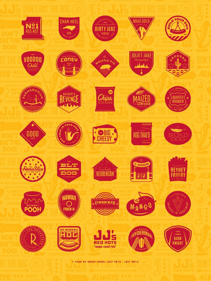Nice amusing collection of hotdog logos! from Nicholas H. via BleckConsulting.com