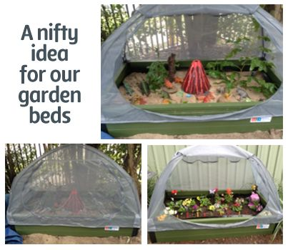 Using our garden bed for a fairy garden and dinosaur land! & 58 best Dinosaurs- Crafts Activities Events and Snack Ideas ...