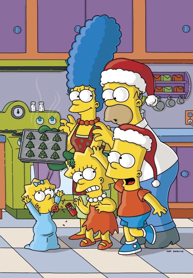 the simpsons' Christmas