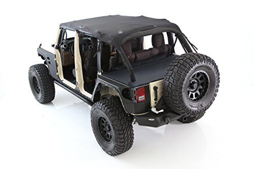 The Smittybilt JK Jeep Bikini Top Combo is an excellent addition to your Wrangler. Drive around in style! We offer the best prices on everything Wrangler!