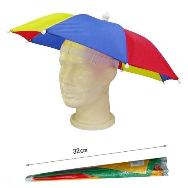 Umbrella Hat Novelty Adult Costume Hat Ladies Mens Multi Colour Festival Hat  | eBay