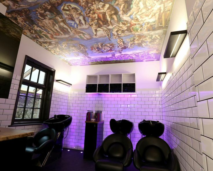 the hair and beauty industry by its very nature is all about salon decorating ideas - Salon Design Ideas