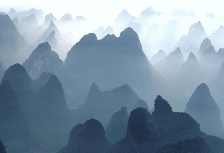 Горы Хуаншань, Китай / Фото дня / Моя Планета