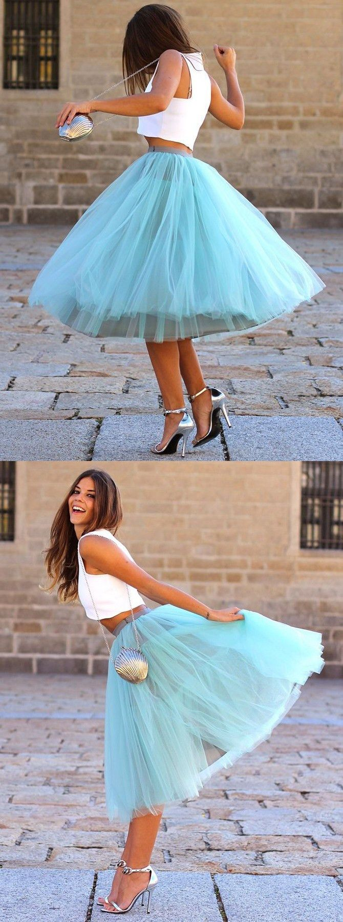 party dresses, chic 2 pieces tutu dresses, tutu skirt, cheap fashion party dresses