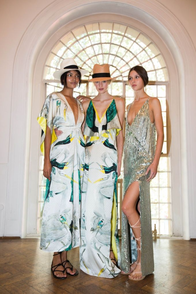 Backstage at the Summer '16 show   Temperley London