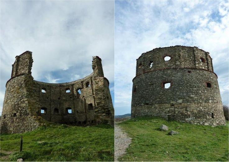 Původní podobu mlýna můžeme odvodit jen z jeho pozůstatků.