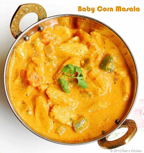 Baby Corn Korma / Masala