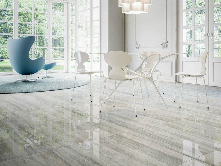 Porcelain stoneware wall floor tiles with marble effect prestigio by ceramiche refin grèscarrelagemarbreporcelaine