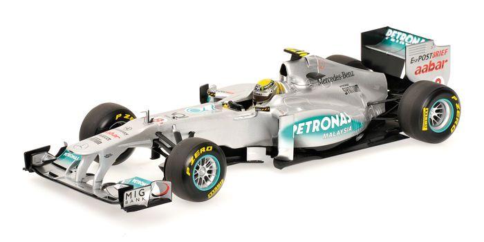 Minichamps - Schaal 1/18 - Mercedes GP Petronas F1 Team MGP W02 N. Rosberg 2011  Prachtig kavel met daarin aangeboden een zeer mooi F1 schaalmodel uitgebracht in de schaal 1:18. Het model is geproduceerd door Minichamps dus de kwaliteit afwerking en details zijn prachtig.- 110 110008 / Mercedes GP Petronas F1 Team MGP W02 N. Rosberg 2011Het model is 100% nieuw en zal geleverd worden inclusief de originele en onbeschadigde verpakking. De bijgevoegde foto's spreken voor zich: collector item…