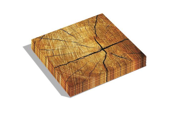 Dutch Design napkins Tree trunk