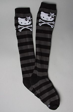 Hello Kitty & Cross Bones Socks