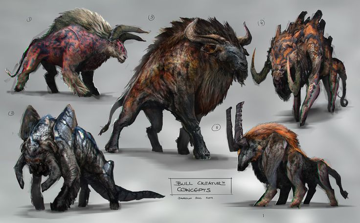 Bull Concept by jaroldsng on DeviantArt