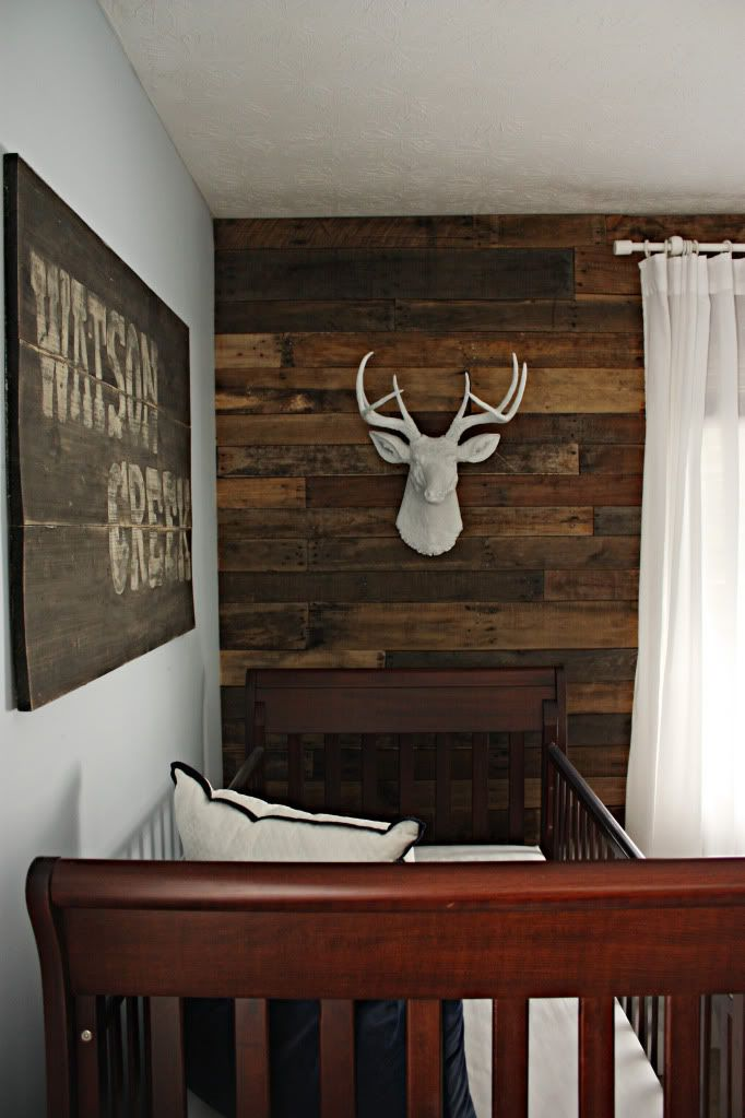 17 best images about wood accent wall diy on pinterest for Boys room accent wall