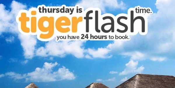 Tigerair Singapore Thursday Flash Time Fly to Maldives from $118 Promotion 6-7 Jul 2017