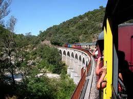 Le petit train des Cévennes...