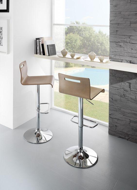 Maximo SG353gas di Friulsedie sud #friulsediesud #sgabelli #cucina #saladapranzo #kitchen #livingroom #casa #cosedicasa