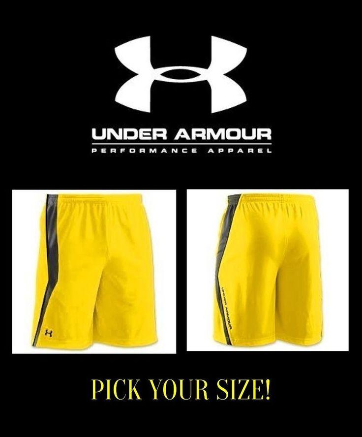 Men's Under Armour Multiplier 10'' Shorts Heatgear Medium Large XL 1228558 NWT #UnderArmour #Shorts