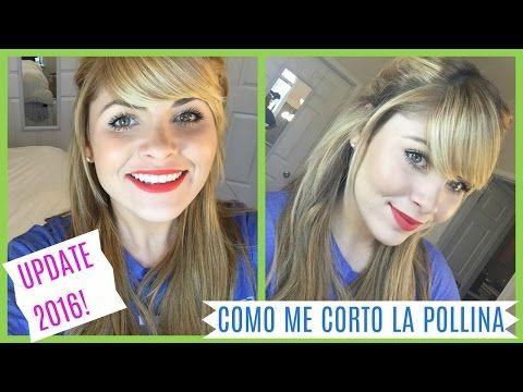 COMO ME CORTO LA POLLINA/FLECO PARA TENERLA DE LADO   UPDATE 2016 - YouTube