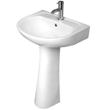 Large basin for en-suite Bath Store £30