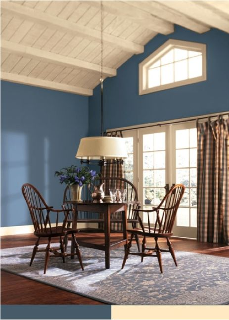 Sherwin williams lakeshore sw 6494 paint colors for for Front room dining room ideas