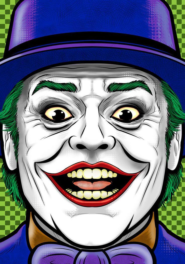 Jack Nicholson Joker by Thuddleston on DeviantArt