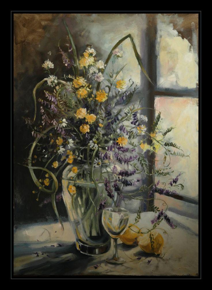 oil on canvas, 50x70cm Lithuania 2016 aut. Katarzyna Waszewska