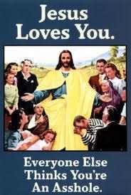 Jesus love you #Retro vintage posters funny humor #Christmas