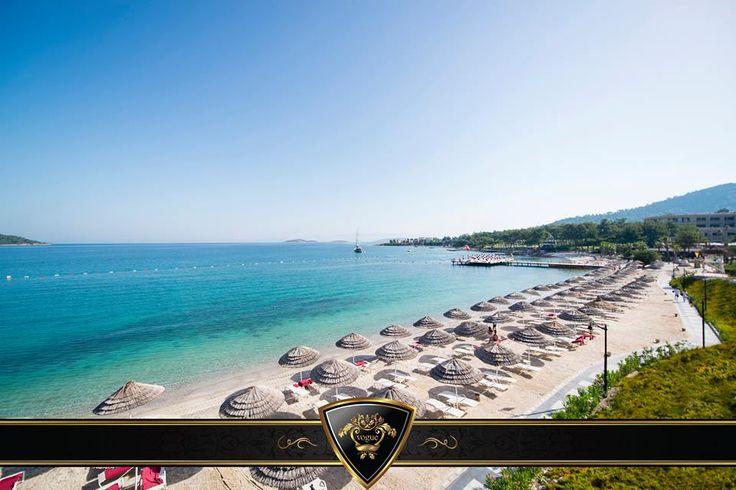 Deniz, kum, güneş ve tabiki Vogue Hotel size çok iyi gelecek... #Vogue #Hotel #Bodrum