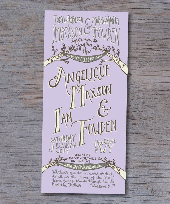 Matchy Matchy Letterpress Invite And Handmade Envelope: 287 Best Images About Wedding Invitations On Pinterest