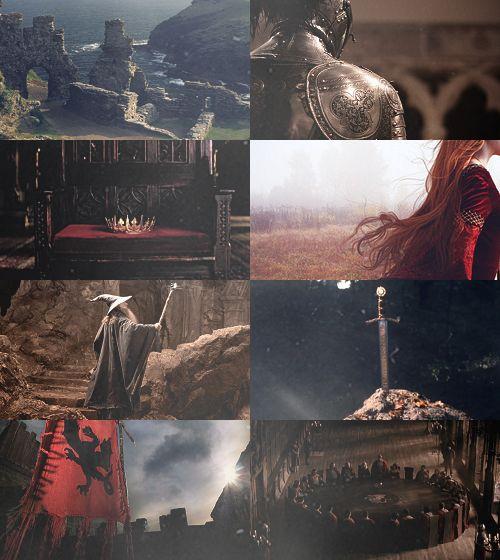 you're my weak spot, Fairy Tale(ish) Picspam→ King Arthur