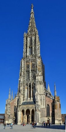 Ulm Cathedral, Germany, tallest cathedral with lots and lots and lots of stairs. Whew!