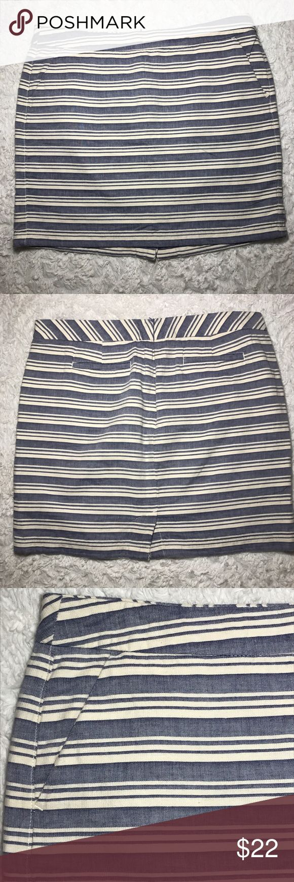 "Tommy Hilfiger Skirt Size 16 Size 16 skirt, 90% cotton, 10% Linen, hidden back zipper, front side pockets, faux pockets in back.  Measurements taken laying flat 19"" waist, 19"" length.  NWOT Tommy Hilfiger Skirts"
