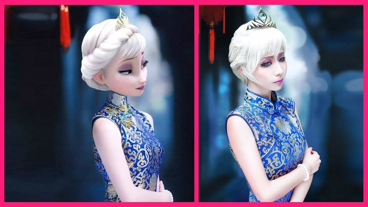 FROZEN Characters In Real Life 2018 | Elsa - Anna - Olaf | 📷 Video | Tup...