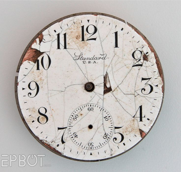 Printable Pocket Watch Faces - nice resource for crafts! (More at the link.)