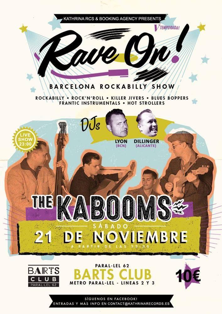 Rave On! Barcelona Rockabilly Show 21 de Noviembre 2015.