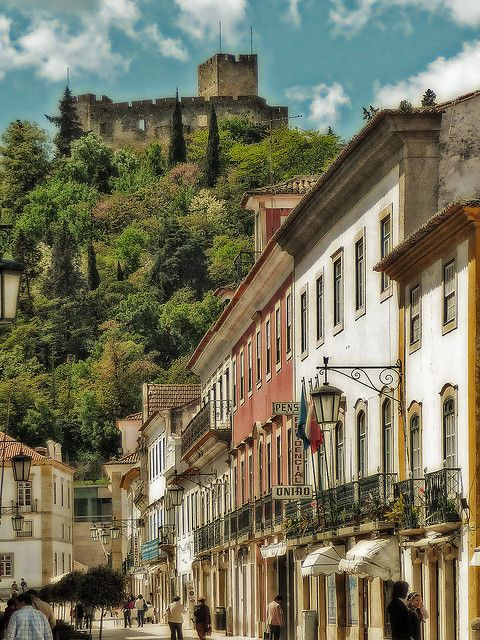 Tomar, Templar castle - Portugal By Nayia Ginn