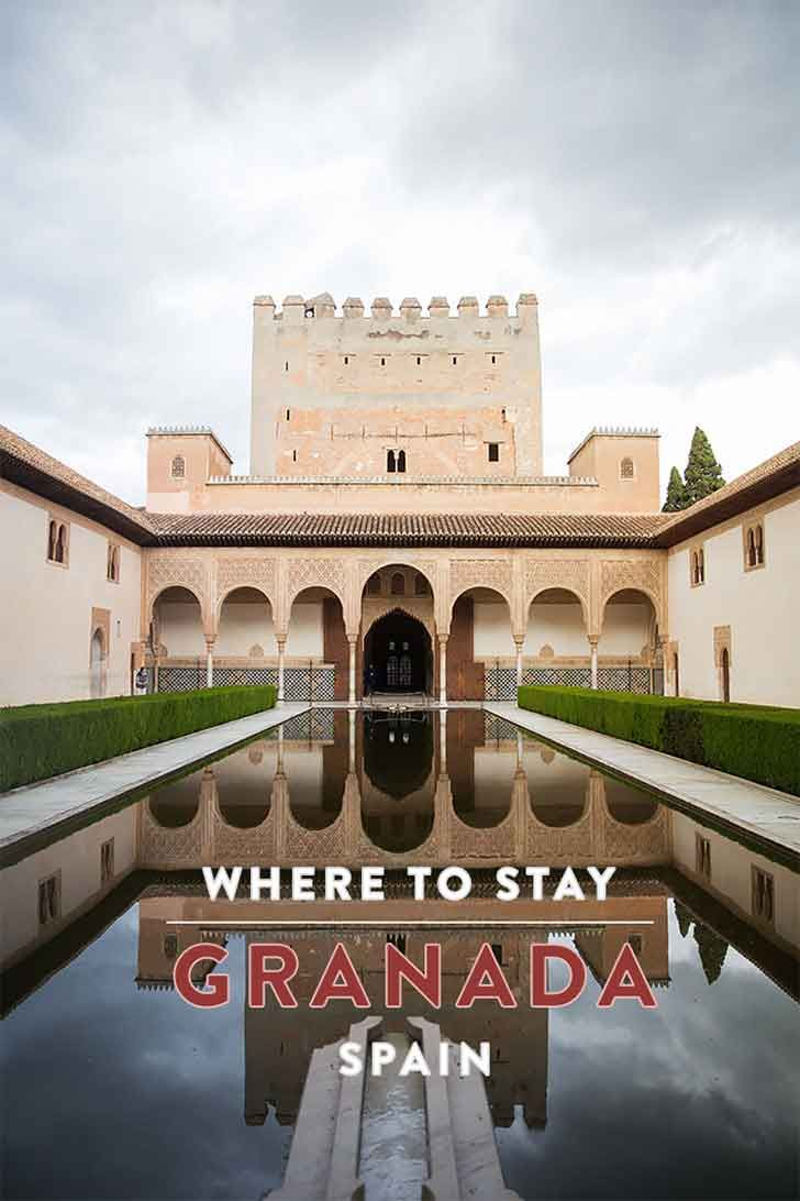 Some tips and recommendations for the best places to stay in Granada, Spain (Andalusia)