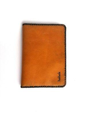Portapasaporte para el pasaporte, tarjetas, billetes y papeles (Color: Curry)